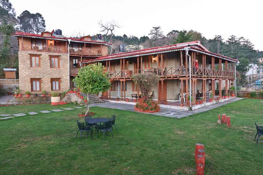Chevron Eco Lodge,Kausani